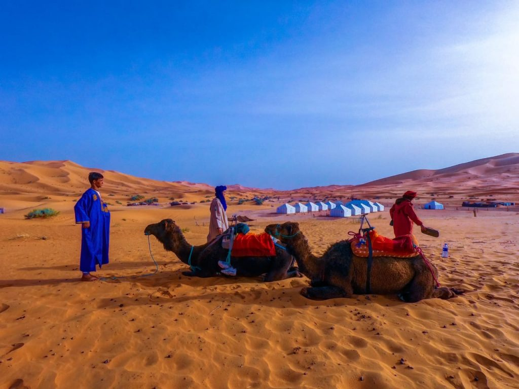 Morocco camel trekking merzouga Sahara Desert luxury Camps In Morocco morocco trips morocco tours of peace