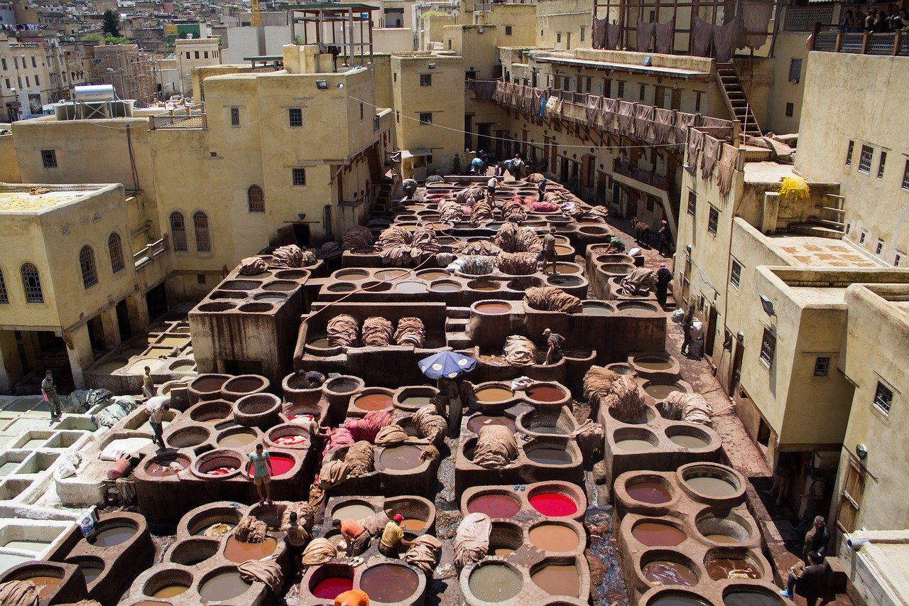 morocco trips morocco tours of peace tanneries of fes